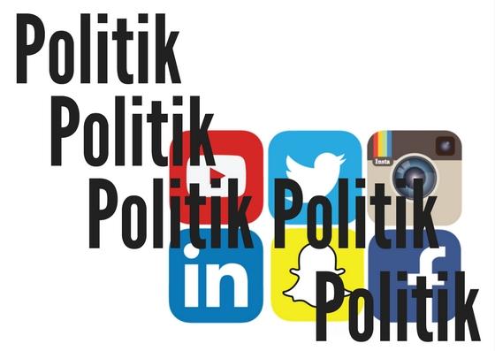Media Sosial Kini yang Kurang Ceria dan Sangat Politis