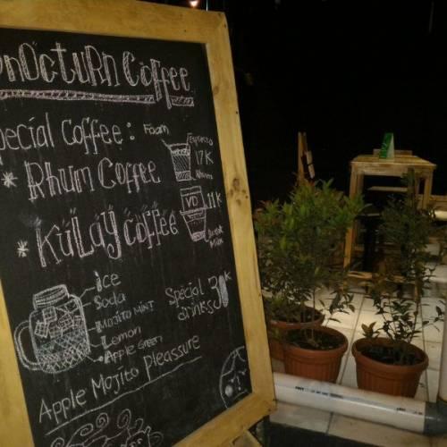 Mencecap Malam di Dnocturn Coffee