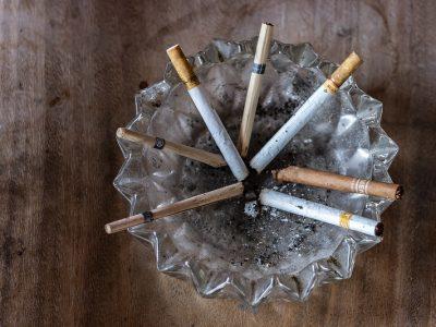 limbah rokok