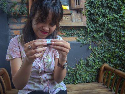 melinting rokok